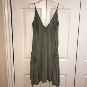 Francesca's Tank Swing Shift Dress